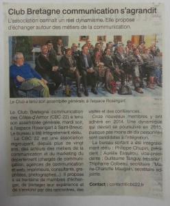 Article Ouest France AG 2015 (1)