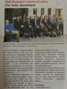 Article Télégramme AG
